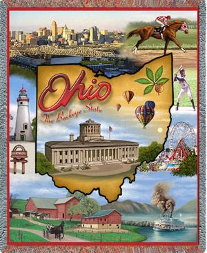 Ohio Throw