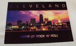 Home Of Rock N' Roll Postcard