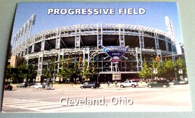 Progressive Field Postcard